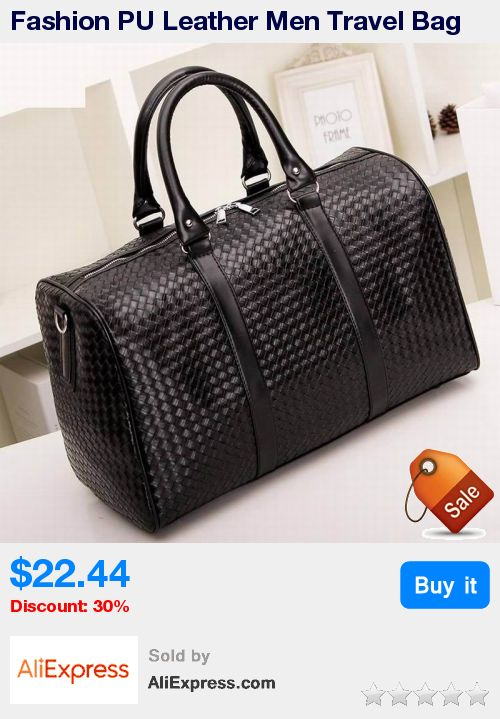 Fashion PU Leather Men Travel Bag Versatile Women Travel Bag Waterproof Black Cool Zipped Shoulder Bags Handbag luggage * Pub Date: 11:36 Apr 11 2017