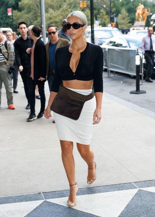 Kim Kardashian à New York en 2017