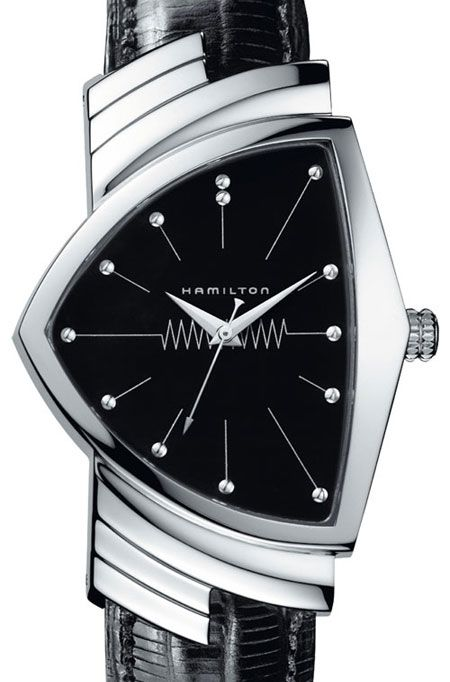 """Men in Black """"Ventura"""" watch. Elvis Presley also wore this brand in the early 60's."""
