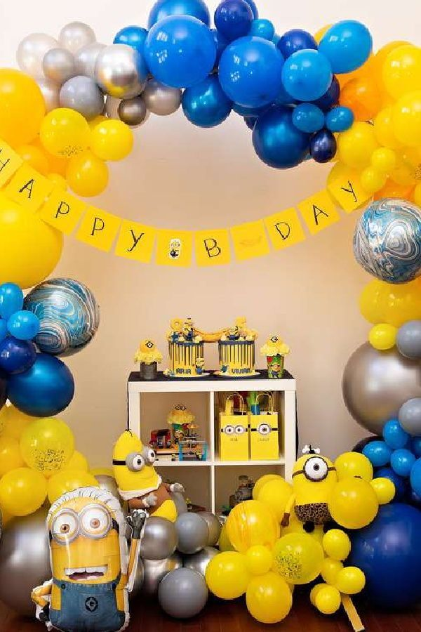 Minions Birthday Party Theme Party Petal