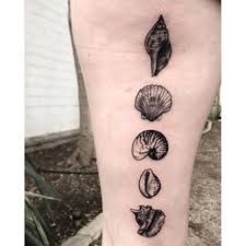 Image result for seashell  tattoo