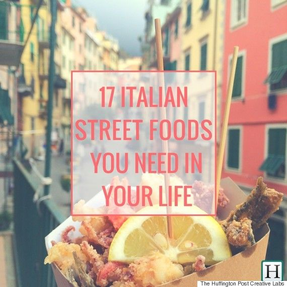 17 Classic Italian Street Foods That Everyone Should Try Once