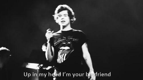 up in my head ur my boyfriend too