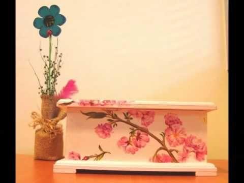 Video Tutorial - Decoupage en madera - decoupage, madera, tutorial, video