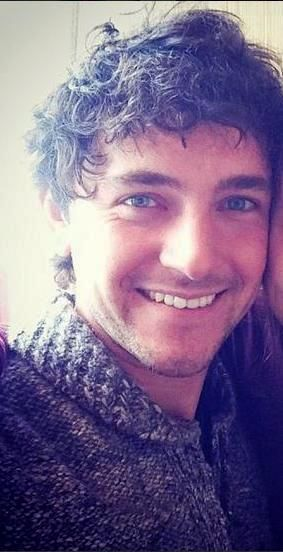 George Blagden killing me with the cuteness