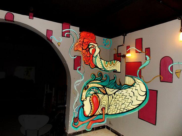 Mural Gunner Por:PickaBel Acrílico sobre muro.