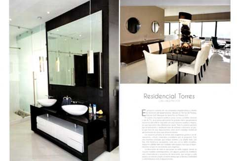 "ArquiTK Magazine publishes ""Residential Torres"" developed by Arch. Alex Ginard  Project: Residencial Torres Architect: Arch. Alex Ginard Tipology: Residencial Design & Construction: Caeli Architects Fecha: 2015"