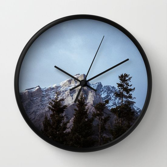 Buy Mountain I by MAJA as a high quality Wall Clock. Worldwide shipping available at Society6.com. Just one of millions of products available.