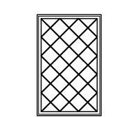 Diamond Grille Pattern