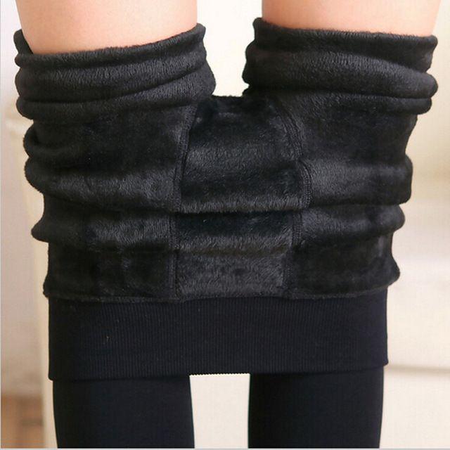 8 Kleuren S-XL Winter Plus Kasjmier Leggings Vrouw Casual Warm Plus Size Faux Fluwelen Gebreide Dikke Slim Super Elastische Leggings