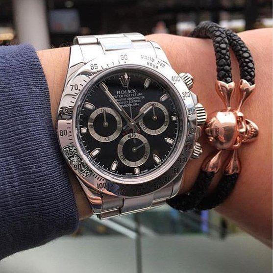 Rolex Daytona Black Steel