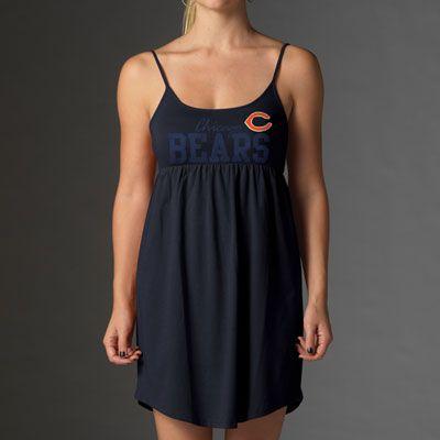 Chicago Bears Women's Navy '47 Brand Suzie Dress