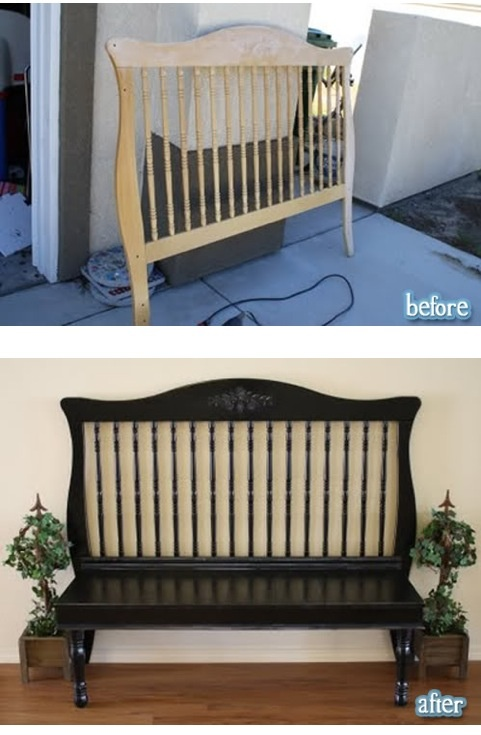What you can turn your old crib into.
