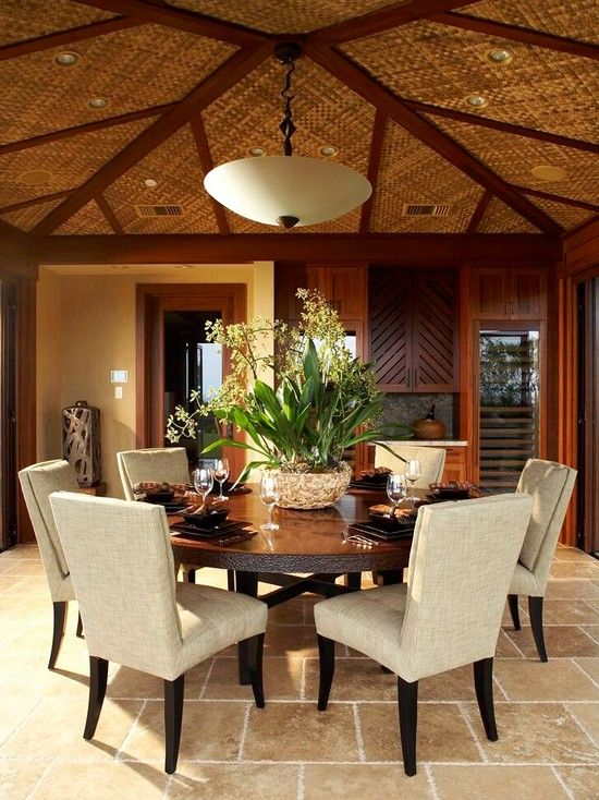 Round Dining Room Table Decor Ideas