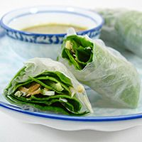 What do you get when you combine a Thai snack food with a Vietnamese spring roll wrapper: Miang Kum Rolls, of course! Here's the back-story: I was thinking of making up a batch of Spring Rolls, to go with the Korean Stew I was planning for dinner last night. And I also had a craving...Read More »