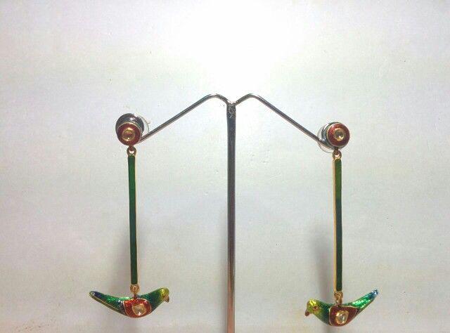 Parrot tops dangallers 22 carat gold and diamond polkis Www.facebook.com/Deendayalrajkumarjewellers