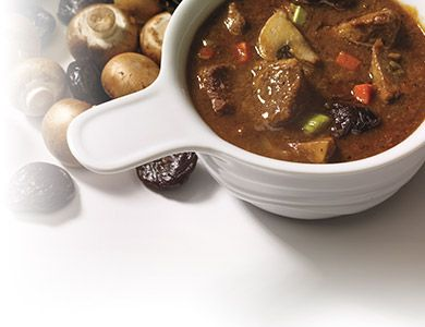 This #stew is influenced by the cuisine of Belgium and needs a punch of full-bodied dark #beer to lend colour and richness to the sauce. #AnnaOlson