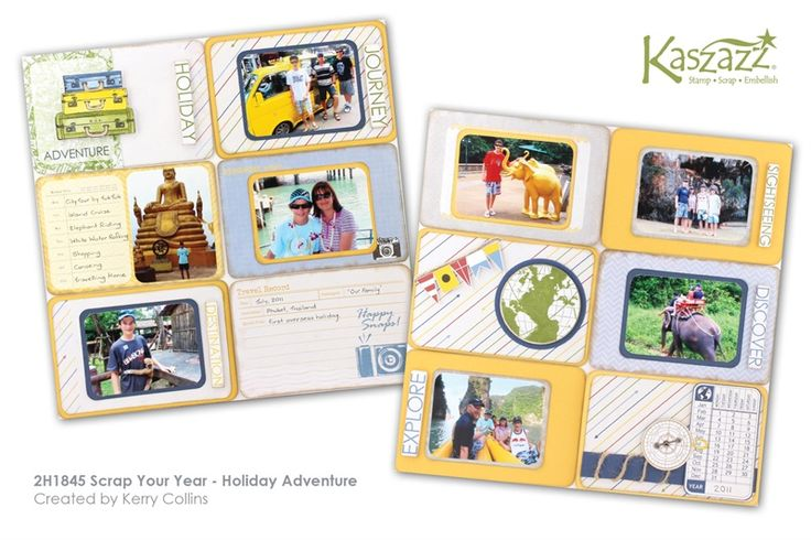 2H1845 Scrap Your Year - Holiday Adventure