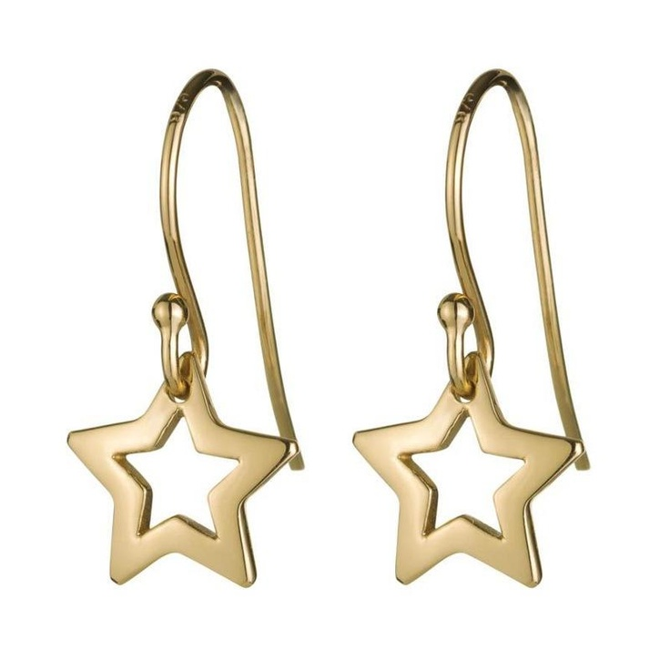 Daisy Gold Star Earrings - Perfect for everyday!