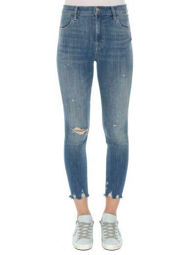 J BRAND J Brand 'Alana' High Rise Cropped Pants. #jbrand #cloth #https: