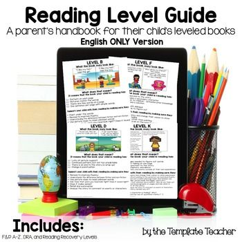 Best 25 parent handbook ideas on pinterest night and day guide to reading levels a parents handbook for their childs leveled books english and pronofoot35fo Image collections