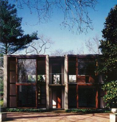 Casa Esherick / Filadelfia, USA / Louis Kahn / 1961