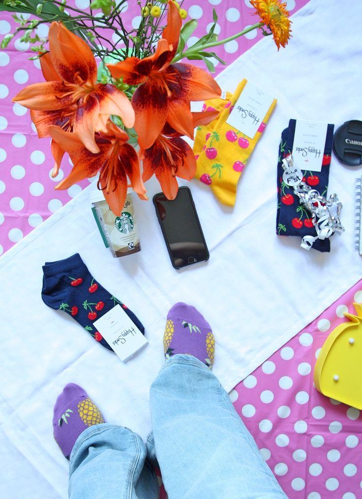 Foute vrolijke sokken, oftewel Happy Socks!