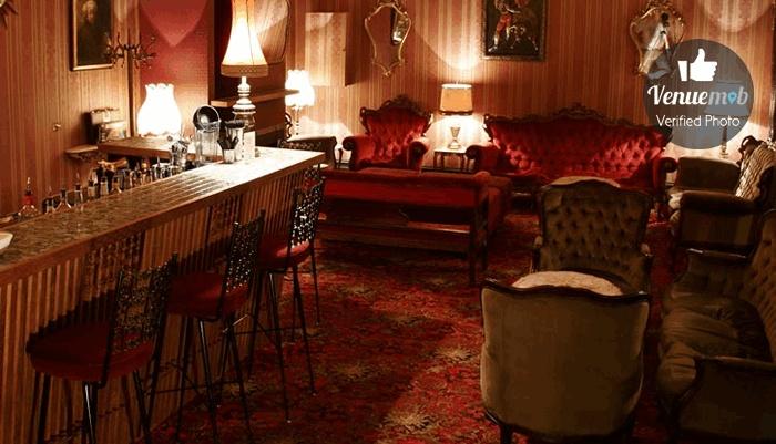 Red Lounge at Back Bar, Melbourne.