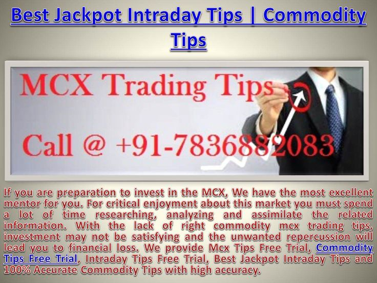 Best intraday trading strategy for commodities