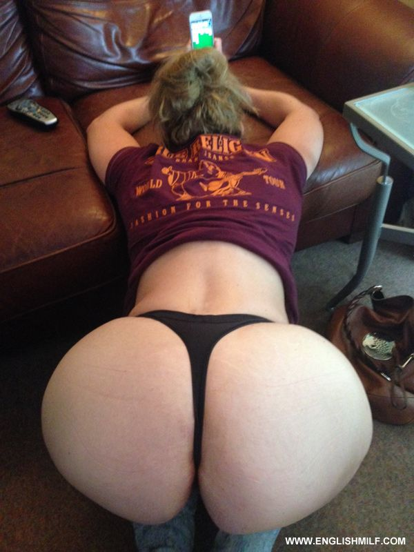 Phat ass white milf