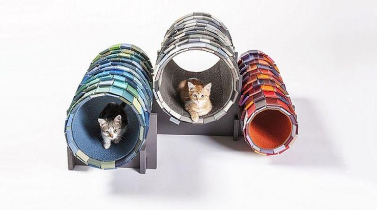 Gatos con estilo: Arquitectos crean modernas casas para ellos | Foto galeria 6 de 6 | El Comercio Peru