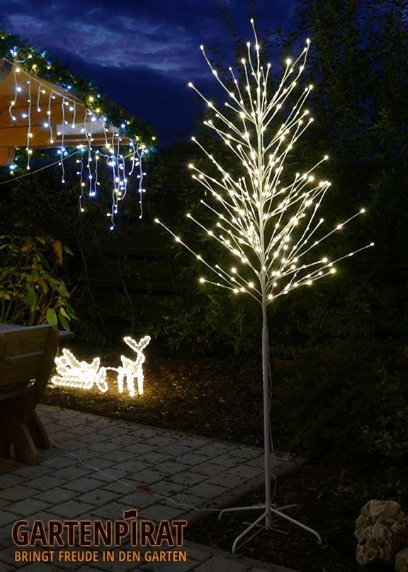 #love #led-baum #lichterbaum #idee #deko #garten #led #dekoration