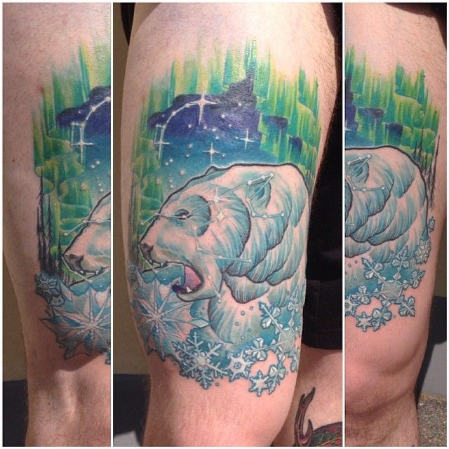 32 best aurora borealis tattoos images on pinterest for Tattoo shops in aurora