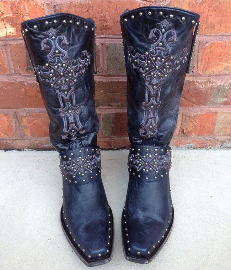 Old Gringo Krusts Boots Blue L1295-1, BOOTS I WANT FOR CHRISTMAS!