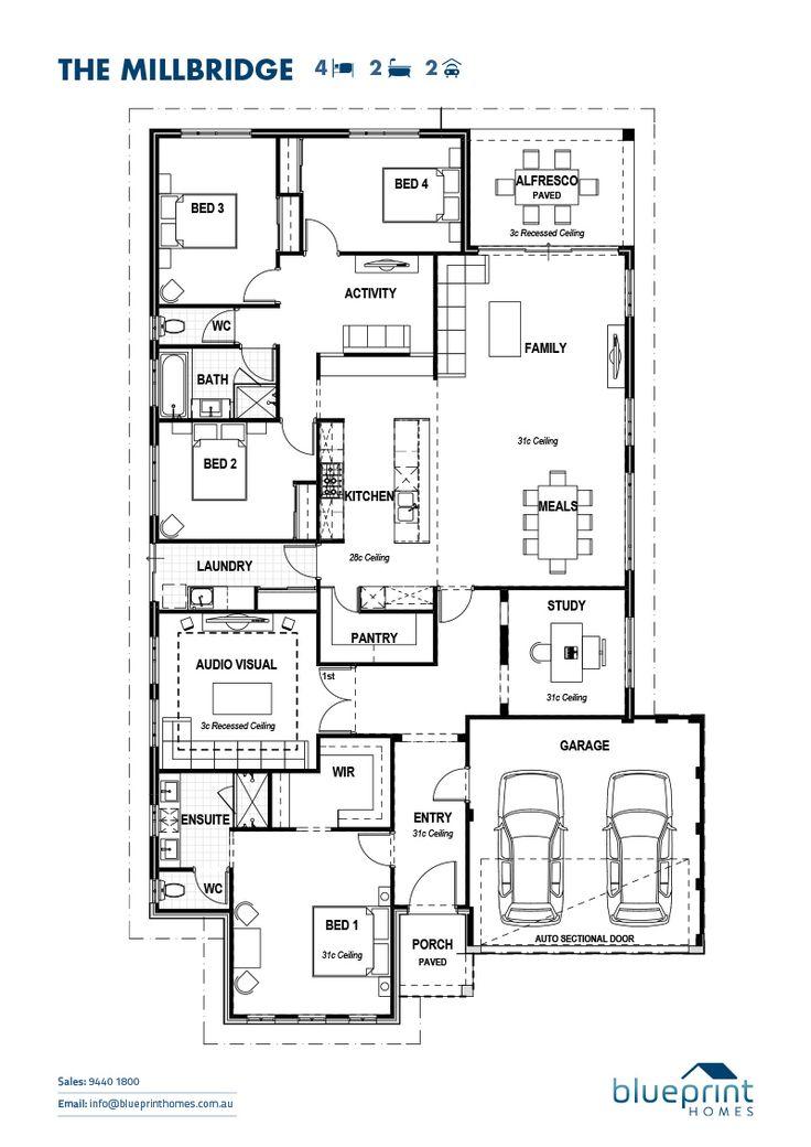 9 best greece art images on pinterest house design floor plans the millbridge 4 bedroom home design perth floorplans malvernweather Image collections