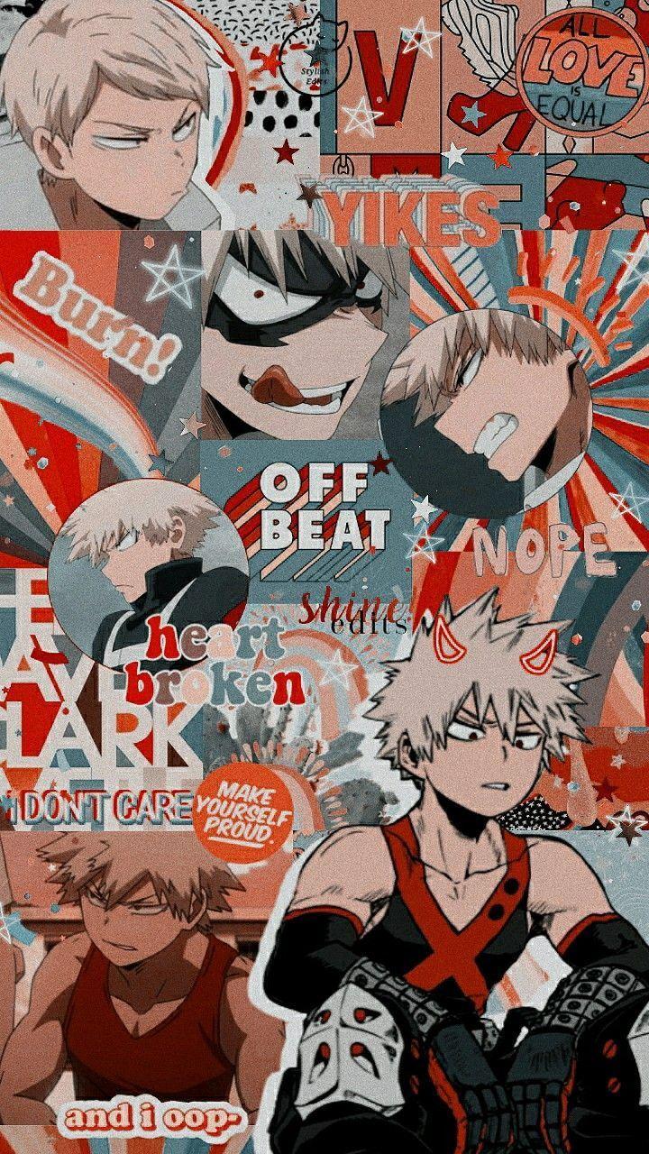 Bnha Mha Bokunoheroeacademia Myheroacademia Wallpaperbackgrounds Wallpapers Bakugou Katsuki In 2020 Cute Anime Wallpaper Hero Wallpaper Anime Wallpaper Iphone