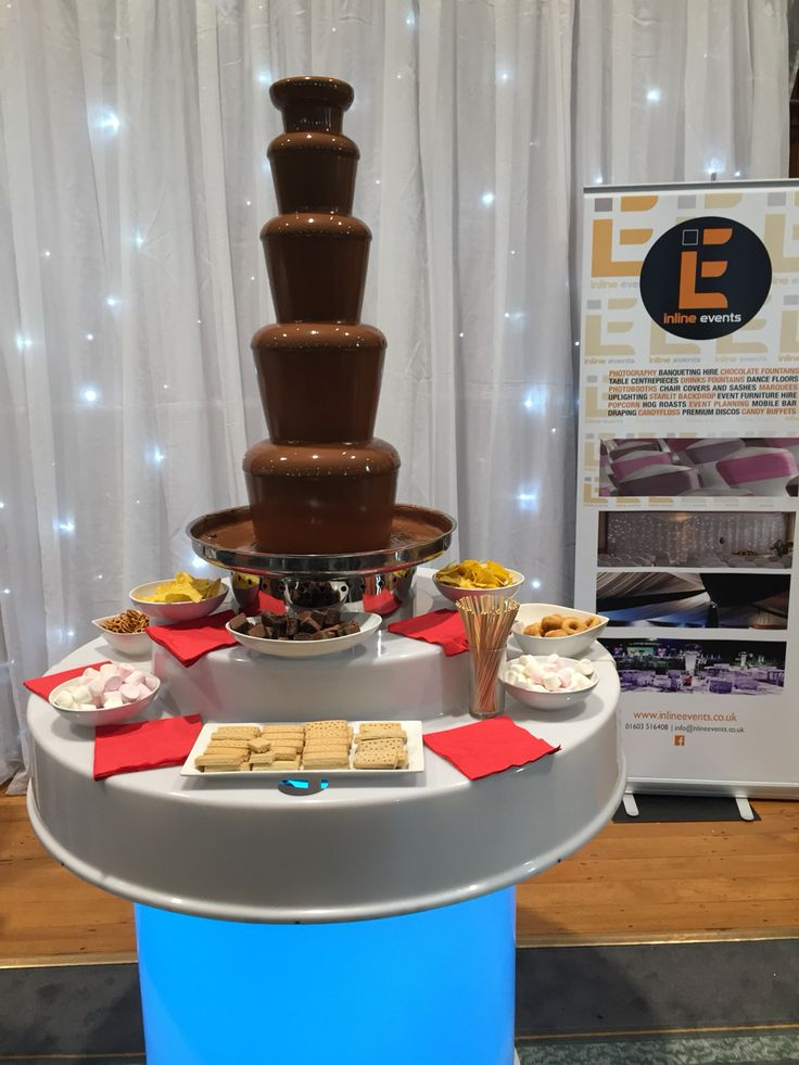 Great Yarmouth Town Hall Wedding Fair with chocolate fountain
