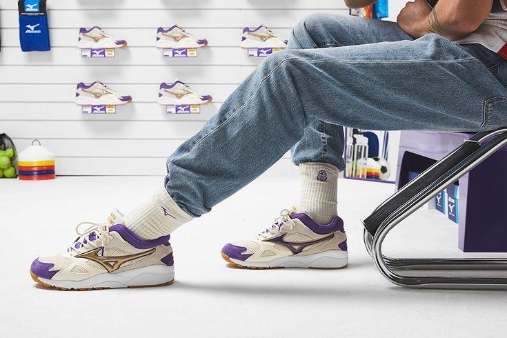 Przed Wami Kolaboracja Footpatrol X Mizuno Skymedal Mizuno Shoes Smell Sneaker Stores