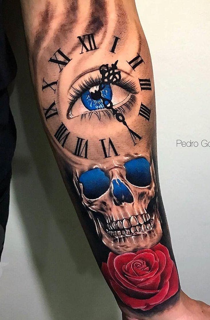 80 Tatuagens de Caveiras e Crânios [Masculinas e Femininas