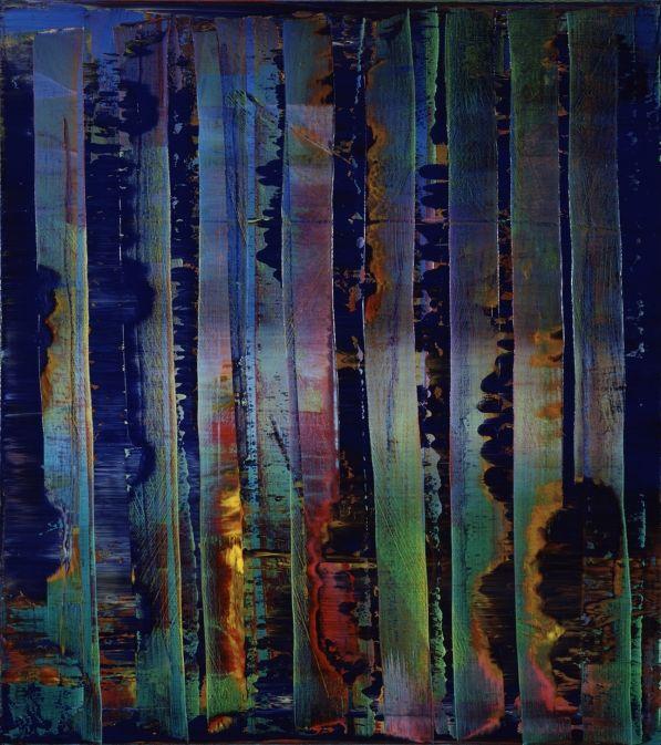Gerhard Richter Abstract Painting 1992 92 cm x 82 cm Werkverzeichnis: 776-2 Öl auf Leinwand