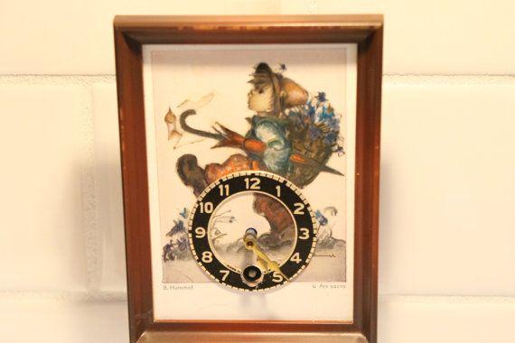 Little Boy Cuckoo Clock Cuckoo Clock Clock by ClockworkRummage