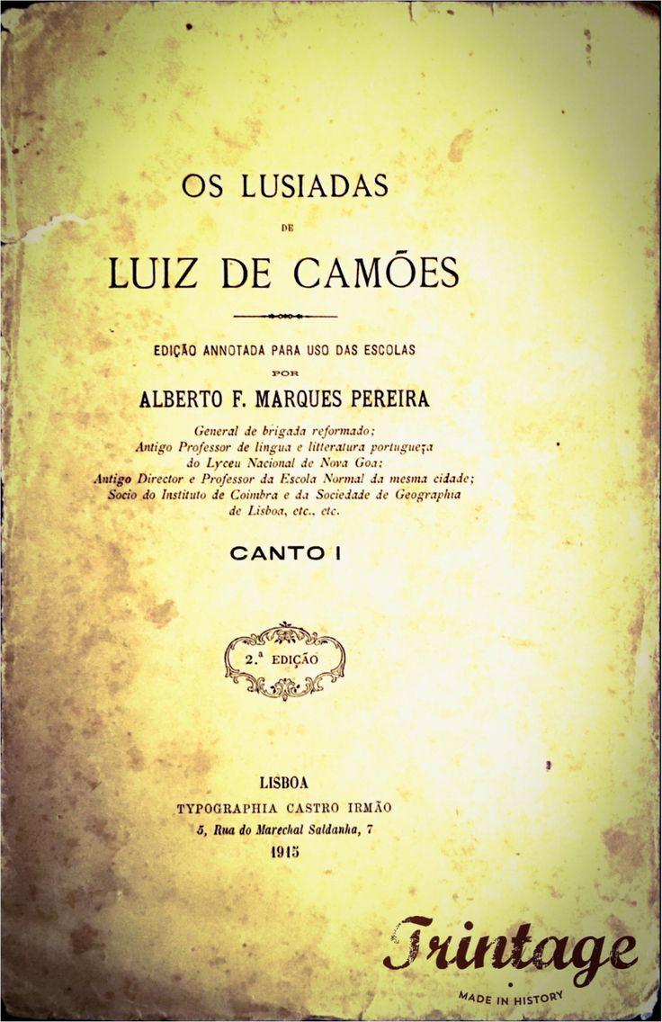 Capa de Os Lusíadas, 1915