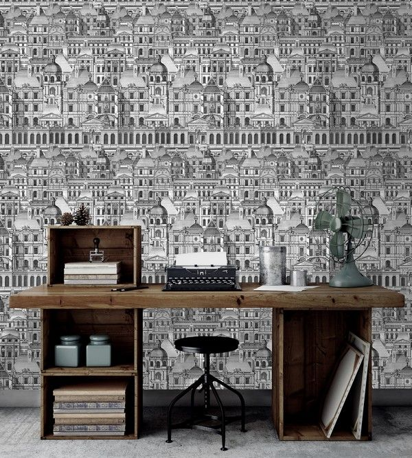 VERSAILLES Wallpaper from The Architect Collection by MINDTHEGAP