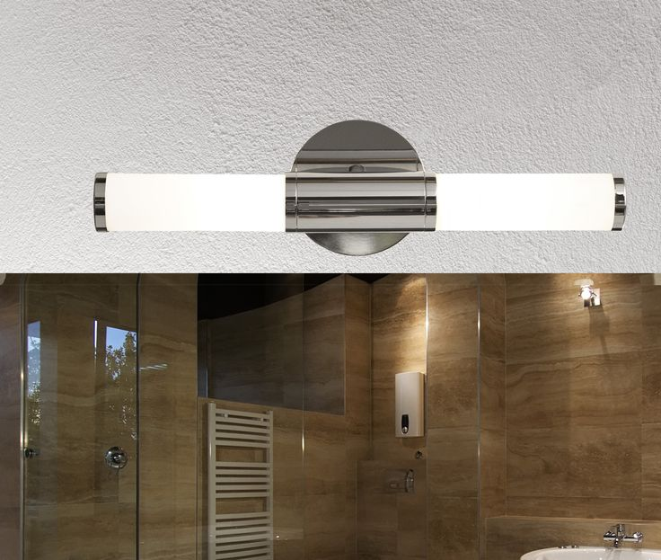 18 best bathroom lighting images on pinterest bathroom lighting bathroom wall lights bathroom lighting wall lighting chrome gallery aloadofball Choice Image