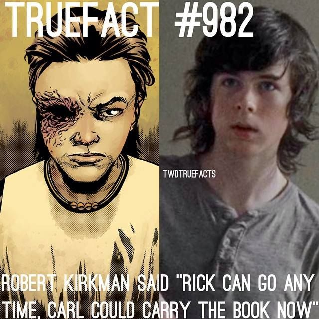Yes keep Carl Keep CHANDLER RIGGS PLEASE I NEED HIM HES THE ONLY REASON WHY IM WATCHING THE SHOW HES THE BEST THING ON THIS EARTH