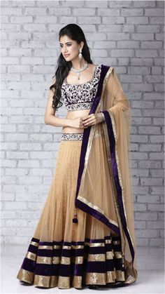 simple ghagra choli - Google Search