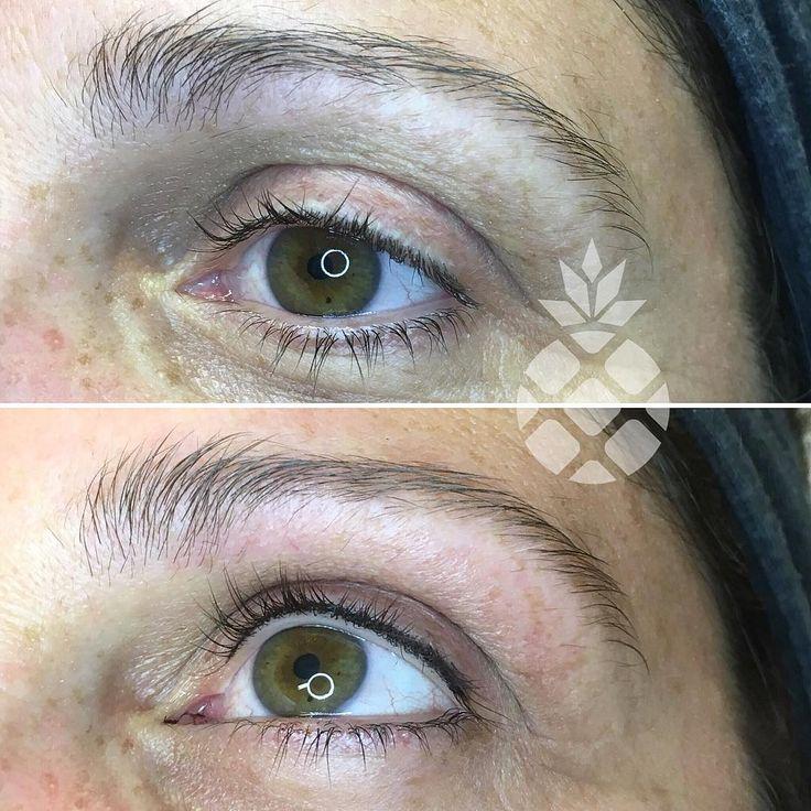 Cosmetic Tattoo Intralash Intracil Very natural lashline ...
