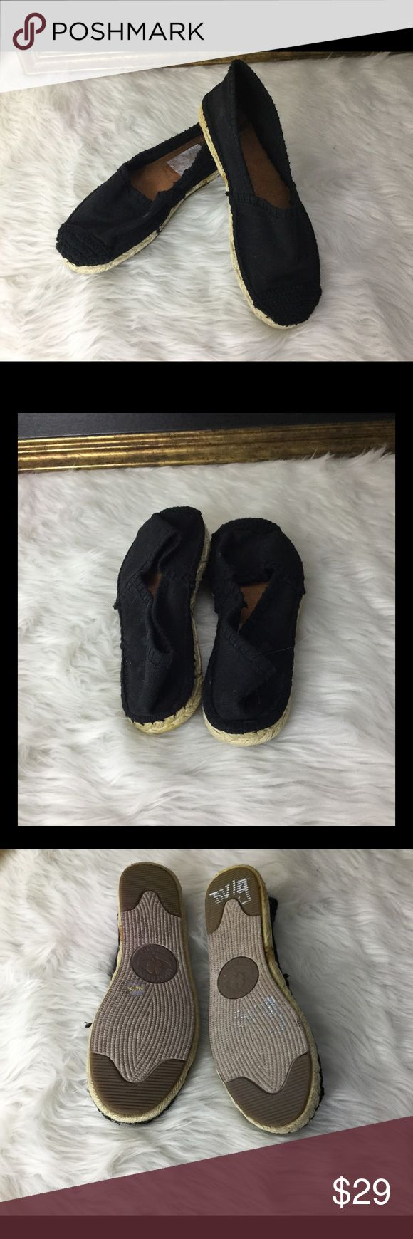 Lucky Brand Black Espadrilles Shoes.  Sz 5 Lucky Brand Espadrilles shoes.  Sz 5.  Love these!  In good condition. Lucky Brand Shoes Espadrilles