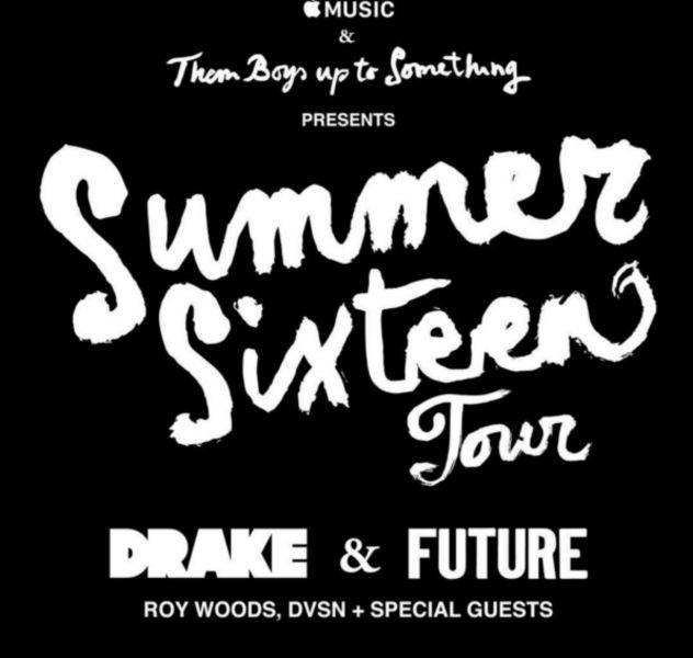 Drake concert paris 2017