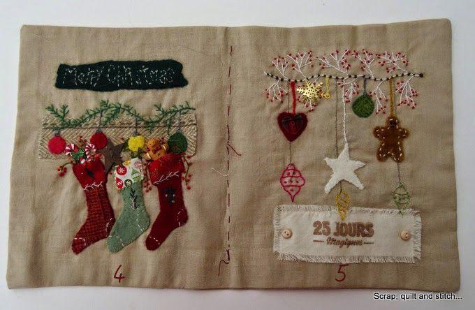 Scrap,quilt and stitch: Le livre de Noël : dernière page